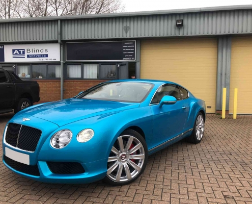 Bentley GT Full Wrap Kent