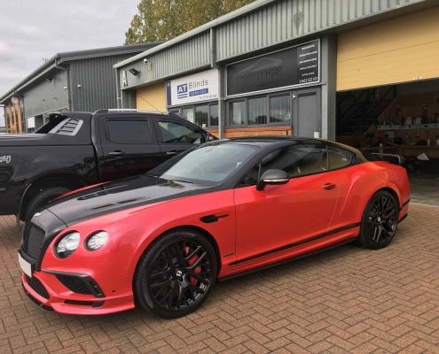 Bentley GT Supersports - Car Wrap Kent