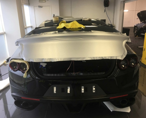 Ferrari GTC4 Lusso - Vehicle Wrap Kent