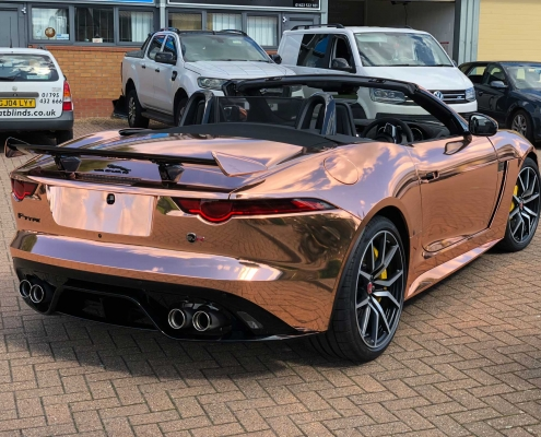 Jaguar F-Type SVR - Car Wrap & PPF Kent