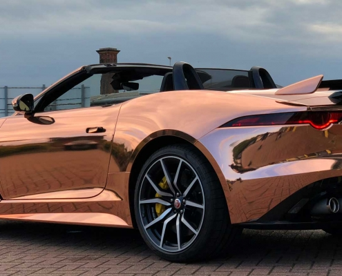 Jaguar F-Type SVR Full Wrap & PPF Kent