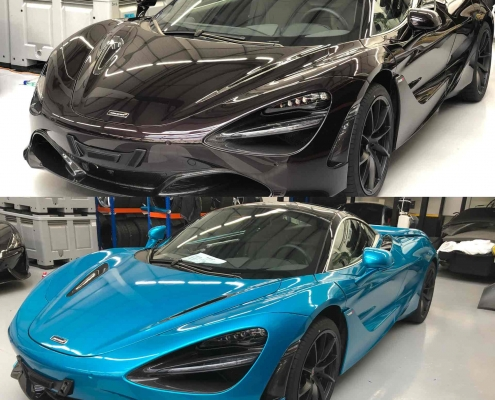 McLaren 720 - Vehicle Wrap Kent