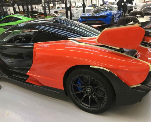 McLaren Senna - Vehicle Wrap Kent