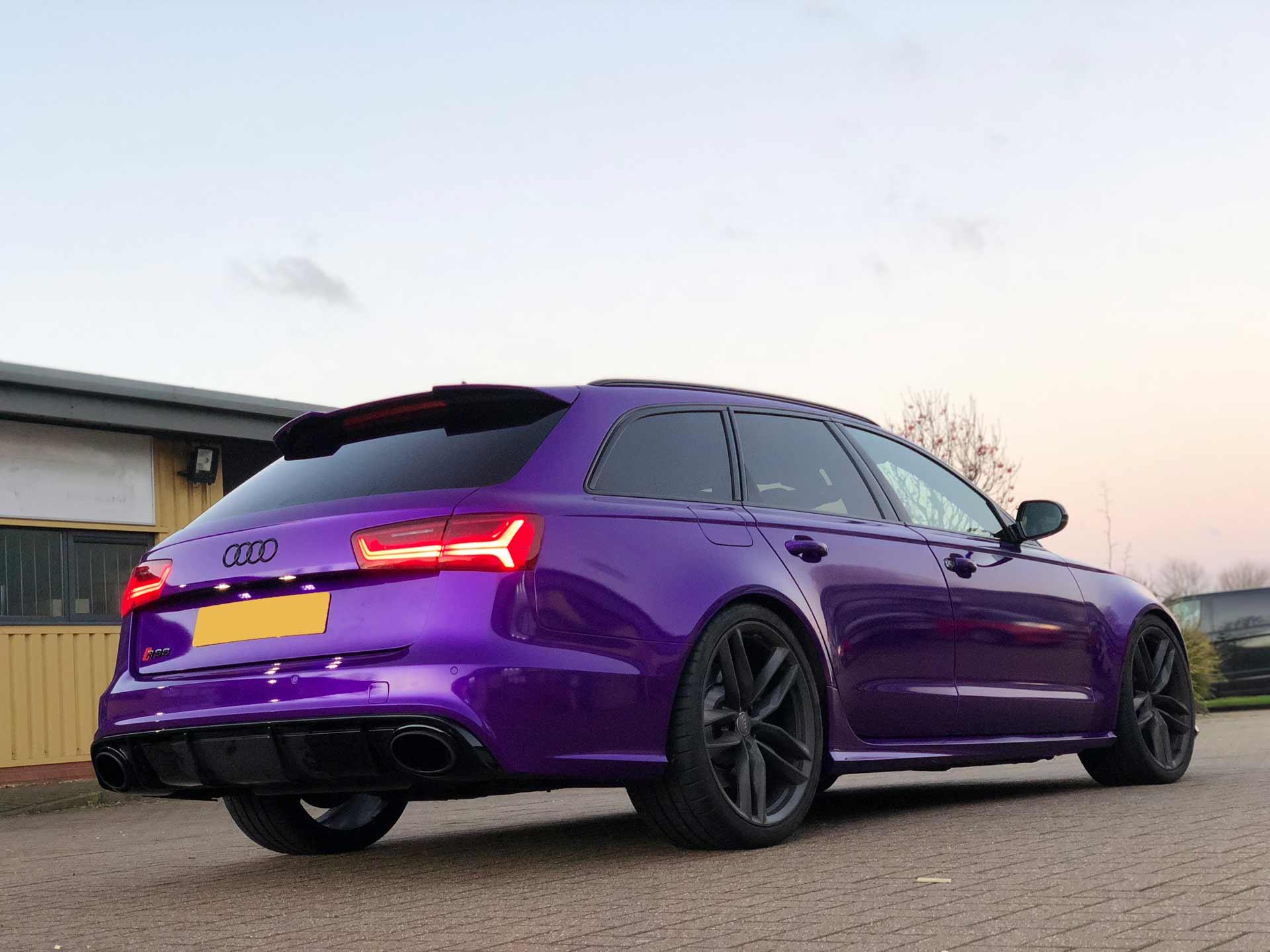 Audi RS6 - Vehicle Wrap Kent