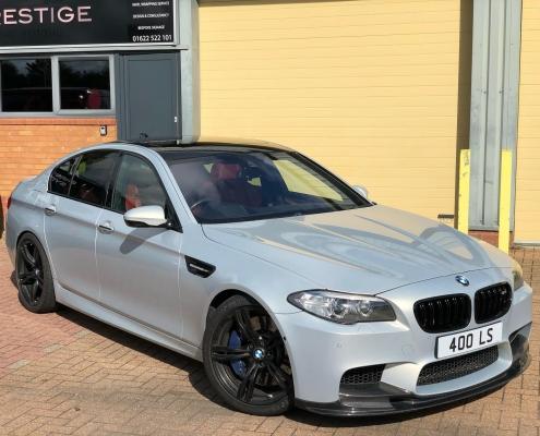 BMW car wrapping kent
